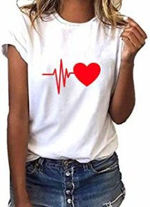Camisetas de Corazones Bonitos