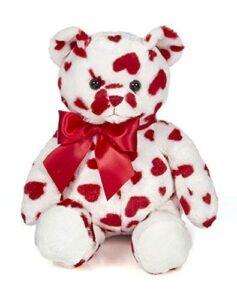 Bearington Lil Cutie - Oso de peluche de peluche con corazones, 14.0 in