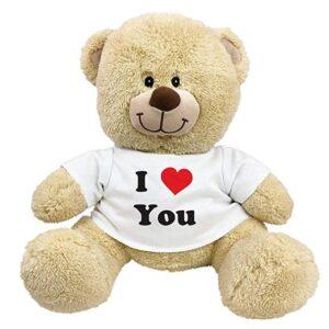 I Love You oso de peluche con playera