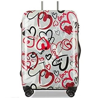 maletas con muchos corazones
