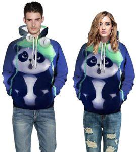 sudaderas de parejas con pandas