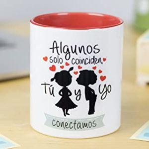 tazas de parejas con frases