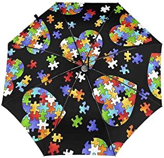 corazon de colores paraguas