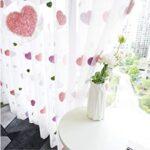 cortinas corazones
