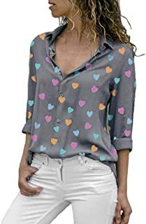 diseño blusas de corazon