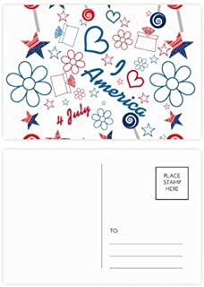 elegante postales de corazones