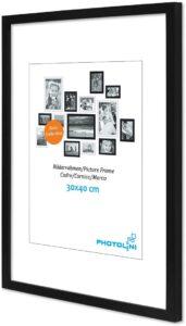 negro marco de fotos familiares