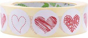 pegatinas de corazones 4 modelos