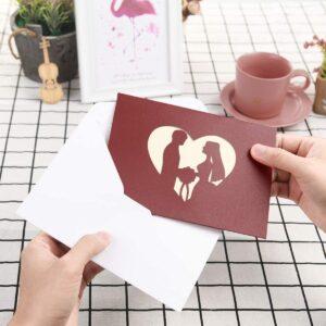 postales de corazones boda