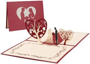 postales de corazones romanticas