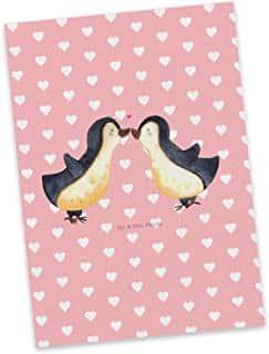 postales de corazones rosa