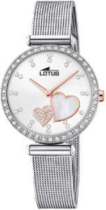 reloj de corazones