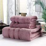 toalla familiar rosa