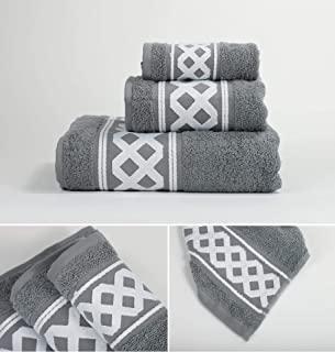 toalla familiar gris