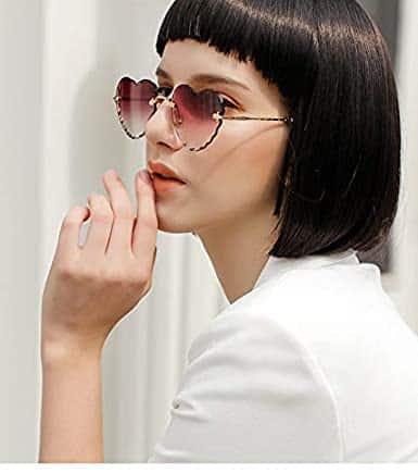 Gafas de Corazones modernas