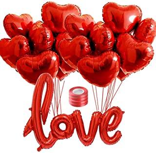 globos de corazon con helio