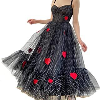 vestidos de corazones